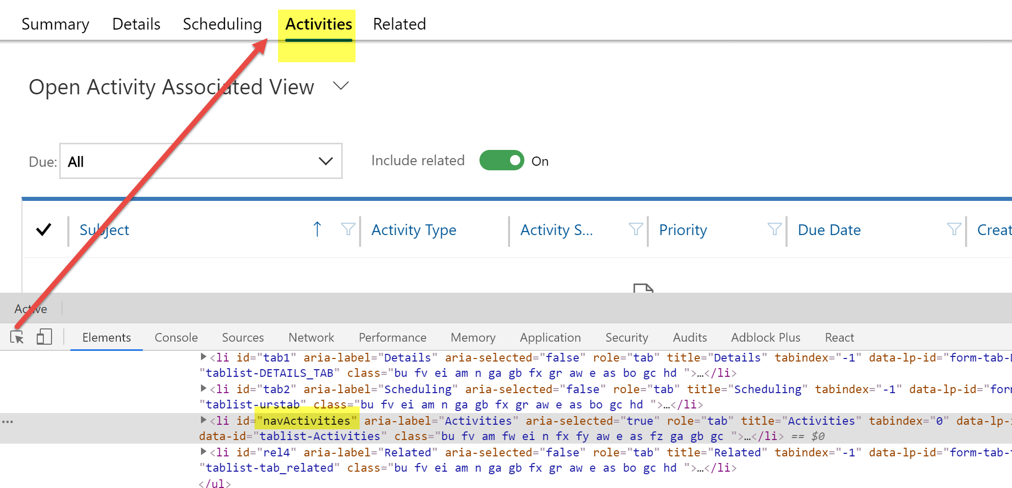Using AssociatedView Action in Unified Interface for USD